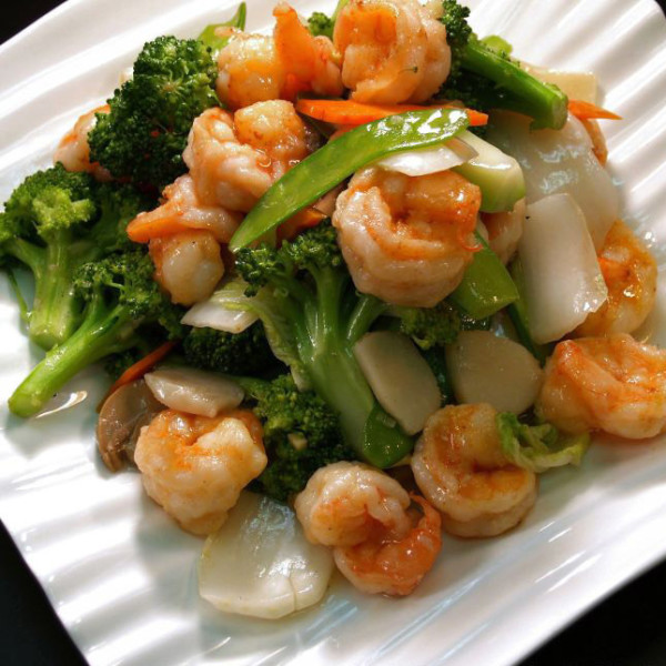 Shrimp mixed vegetables - Yelp  |Shrimp With Mixed Vegetables